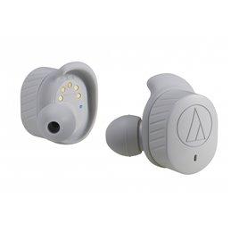 Audio-technica True Wireless IE Headphones grey - ATH-SPORT7TWGY Headsets | buy2say.com audio-technica