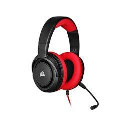 Corsair Headset HS35 STEREO Gaming Headset Red CA-9011198-EU Headsets | buy2say.com Corsair