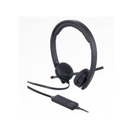 Fujitsu UC&C USB Headset Stereo H650e powered by Logitech S26391-F7139-L10 Headsets   buy2say.com Fujitsu