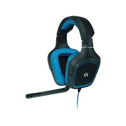 Logitech G430 Binaural Head-band Black/Blue headset 981-000537 Headsets   buy2say.com Logitech