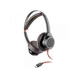 PLANTRONICS BLACKWIRE 7225 BW7225 USB-C BLACK WW - 211145-01 Headsets | buy2say.com Plantronics