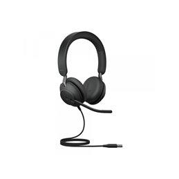 Jabra Headset Evolve2 40 UC Duo USB-A 24089-989-999 Headsets   buy2say.com Jabra