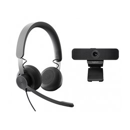 Logitech Wired Personal Video Collaboration Kit Cam&Headset 991-000338 Headsets | buy2say.com Logitech