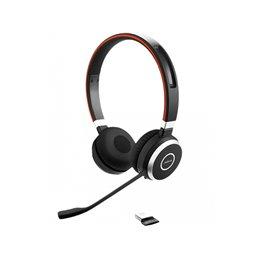 JABRA Headset Evolve 65 MS Duo USB inkl. Ladestat. Bluetooth 6599-823-399 Headsets   buy2say.com Jabra