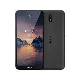 Nokia 1.3 Dual-SIM-Smartphone Charcoal-Black 16GB 719901104091 Mobile phones | buy2say.com Nokia