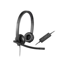Headset Logitech USB Headset H570e Stereo 981-000575 Headset | buy2say.com Logitech