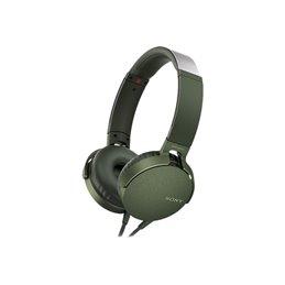 Sony MDR-XB550APG Headphones with microfone Green MDRXB550APG.CE7 Headphones | buy2say.com Sony