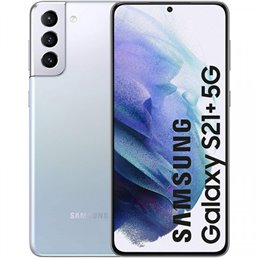 Samsung SM-G996B Galaxy S21+ 5G Dual Sim 8+128GB phantom silver DE Mobile phones   buy2say.com Samsung