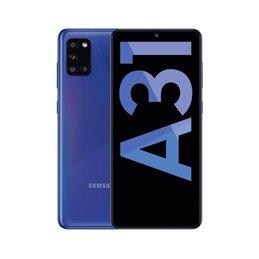 Samsung A31 Blue Móvil 4g Dual Sim 6.4'' Samoled Fhd+/8core/64gb/4gb Ram/48+8+5+5mp/20mp Mobile phones | buy2say.com Samsung